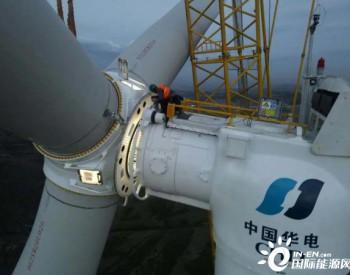 华电<em>山西</em>新能源公司<em>山西</em>平鲁<em>风电</em>项目首台风机吊装完成