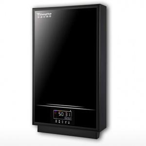 LED节能电磁感应加热地暖壁挂炉(黑)