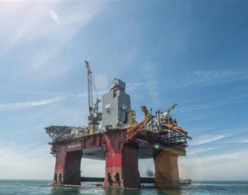 """山东""""仙境烟台""""号钻井平台在挪威北海成功发现油气"""