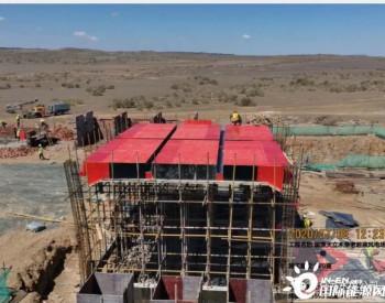 国源天立新疆木垒老君庙风电项目工程建设稳步推进