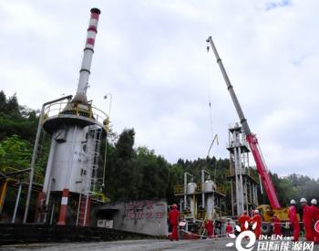 川中油气矿首套轻烃回收装置完成使命 拆除工作