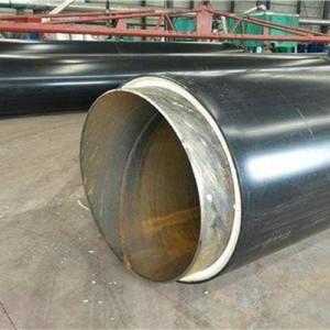 供暖聚氨酯保温钢管 预制直埋保温钢管厂家直销