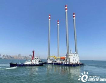 """国际领先""""华东院306""""55米水深海上自升式勘探试验平台交付"""