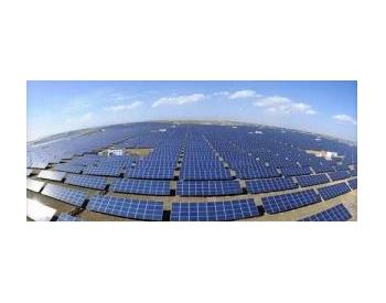 中國港灣中標其第一個太陽能