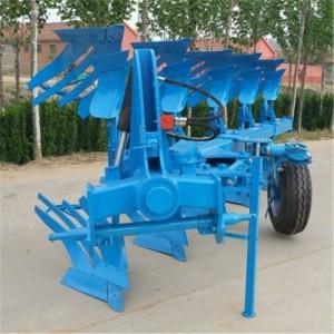 直供单向4铧翻转犁 拖拉机带液压翻转犁 悬挂翻转犁