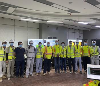 <em>哈电</em>集团总承包的迪拜哈斯彦项目1号机组顺利实现满负荷发电