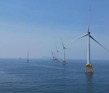 亚太单机容量最大海上风机在三峡福建福清兴化湾风电场成功并网发电