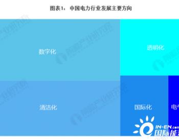2020年中国<em>电力</em>行业市场现状与发展前景分析产业升级带动行业发展