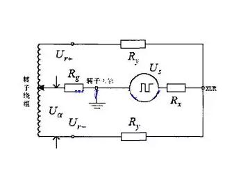 发电机转子一点接地保护原理图(附案例)