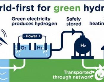 英国启动全球首个海风制氢供热项目!