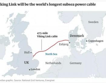世界最长海底<em>电缆</em>项目开工,英国、丹麦共享可再生能源