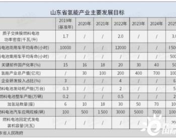 十年规划出台 山东为地方性氢能产业发展打头阵