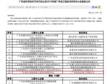<em>英业达</em>获批广东省长寿命电池工程技术中心