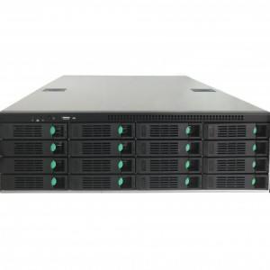 64路输入16盘位热插拔NVR中伟视界网络硬盘录像机存储服务