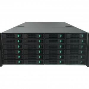 128路输入24盘位热插拔NVR中伟视界网络硬盘录像机存储