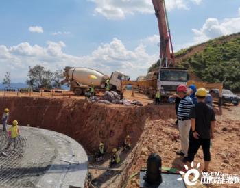 广东阳春永宁镇信蓬风电项目正在建设!