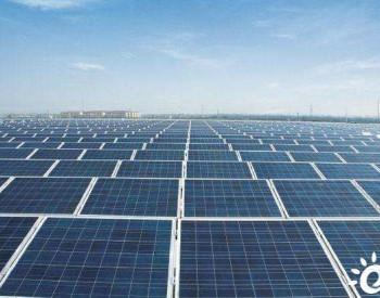 中阿合作最大光伏电站将并网送电 可满足10万户家庭用电