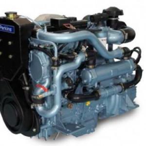 珀金斯船用发动机整机1100系列4.4TGM 四缸 涡轮增压
