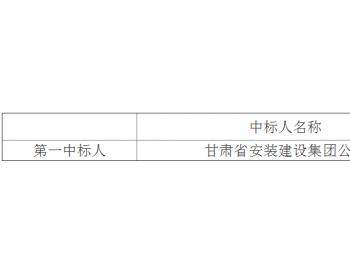 中标|<em>华润</em>电力甘肃瓜州安北100MW风电项目监控中心工程施工中标结果公示