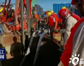 <em>广东</em>沙扒海上风电项目:国内首次完成深水嵌岩基础施工