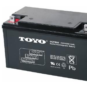 TOYO东洋6GFM65铅酸蓄电池12V65AH电瓶价格