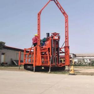 300米液压取芯钻机性能指标 隧道勘探钻机