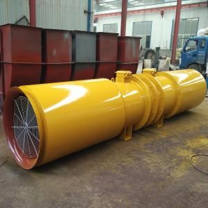 隧道风机 SDF隧道对旋风机 节能消音通风机