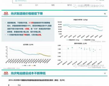"<em>王勃华</em>最新版PPT:""光伏行业2020年上半年发展回顾与下半年形势展望"""
