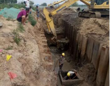 河北沧州中捷产业园区两条<em>污水</em>管线维修工程将全部完工
