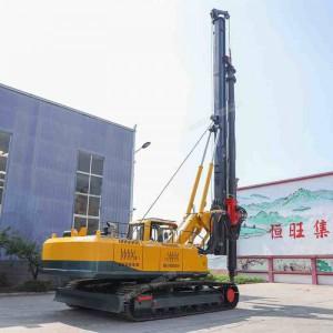 履带式大口径旋挖钻机 高压线塔2米孔径打桩机