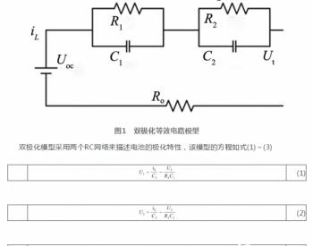 基于高斯过程回归的UKF锂离子电池SOC估计