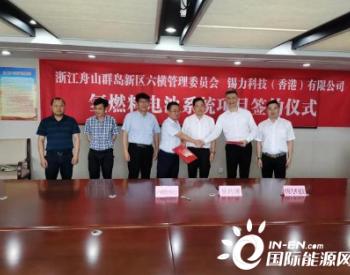 氢燃料项目在浙江舟山开建 六横将建设成全国氢能示范岛