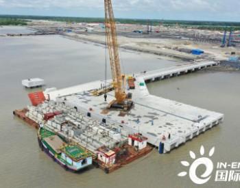 孟加拉巴瑞萨燃煤电站重件码头正式投用