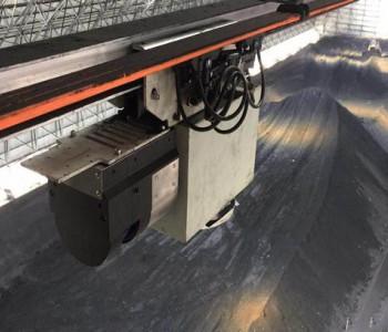 煤仓顶棚柔性导轨式3D<em>激光</em>无人盘煤机器人在国内成功推广应用