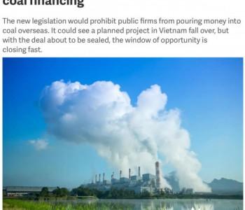韩国启动立法程序拟禁止对海外<em>煤电</em>项目<em>投资</em>