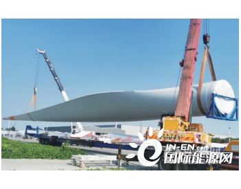 时代新材联合维斯塔斯研制<em>风电</em>叶片 首批V155产品出厂发货