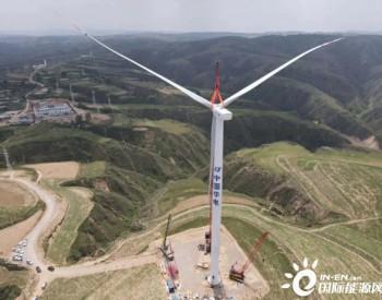 中国华电新能源公司<em>山西</em>五寨100MW风电项目首台风机吊装圆满完成