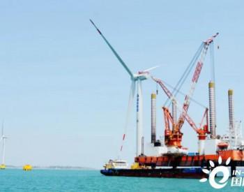 7月份7台7兆瓦——<em>福能三川风电</em>再创国内7MW海上风机吊装纪录