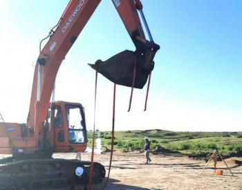 内蒙古通辽科尔沁区河西50MW<em>分散式风电</em>项目风机基础开工