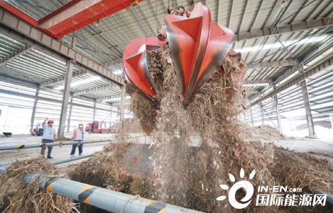 安徽滁州市超九成秸秆变身绿色财富-生物质能动态-生物质能-国际新能源网