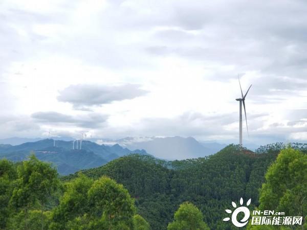 60.95MW,廣西平南縣首個風電項目成功并網發電!