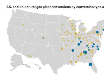 EIA:2011年以来美国121座<em>燃煤</em>电站被替代或改造