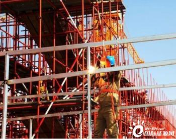 国家能源集团上海庙煤电项目 战高温保工程进度