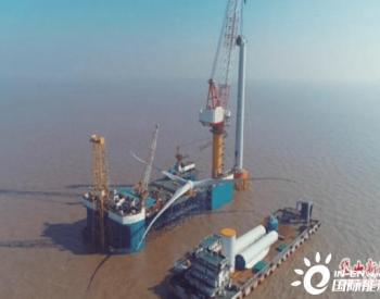 中广核浙江岱山4#海上风电项目进入冲刺阶段