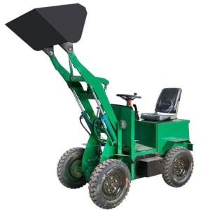 小型四驱电动装载机 柴油电动两种类型铲土运输装载机