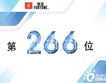 新出炉!中国<em>华能</em>世界500强第266位,上升20位