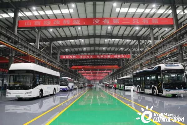 宣布现身!山西省自主研发的第一辆氢电池车退出!