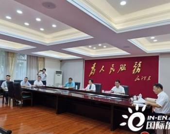 四川资阳市长与韩国现代高层视频连线共谋新能源车<em>项目</em>落地