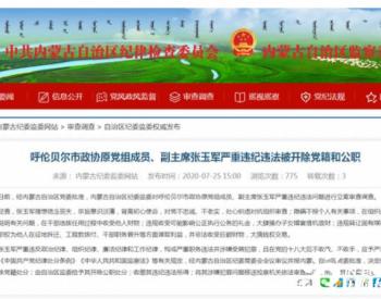 """内蒙古一厅官被""""双开"""",曾违规转让国有煤矿资产"""