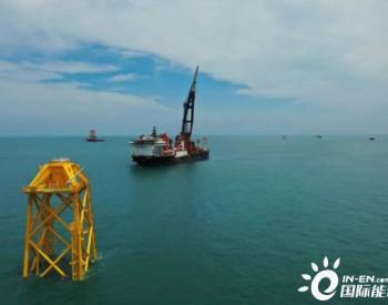 年发电量25亿千瓦时!国电投江苏如东800MW<em>海上</em>风电项目全速推进